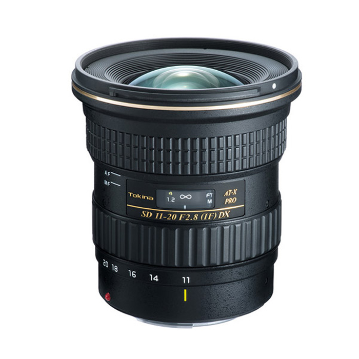 Tokina AT-X 11-20mm f2.8 PRO DX Lens for Canon EF