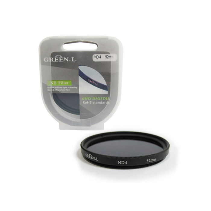 Filter ND4 52mm Green L