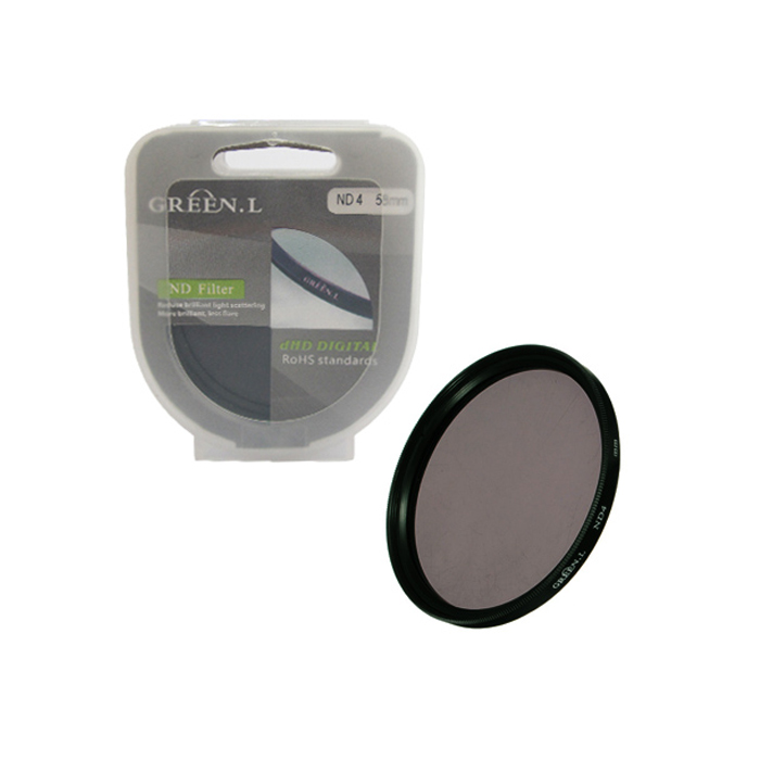 Filter ND4 58mm Green L