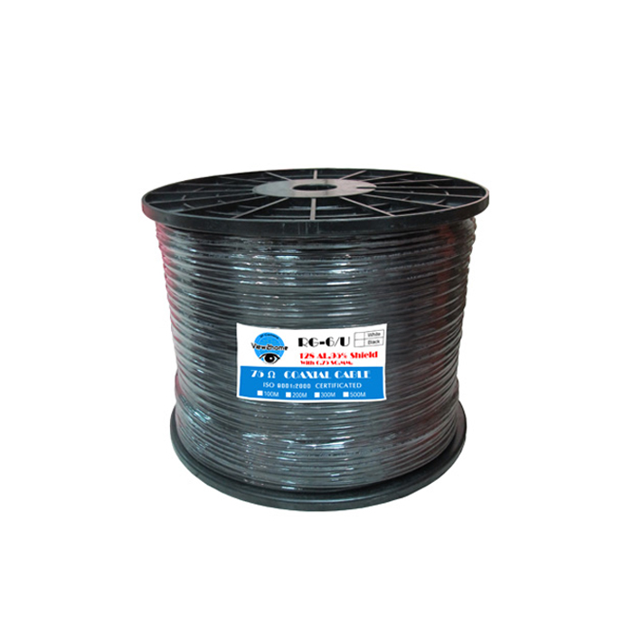 CABLE RG6128 500M + POWERFEED 0.75