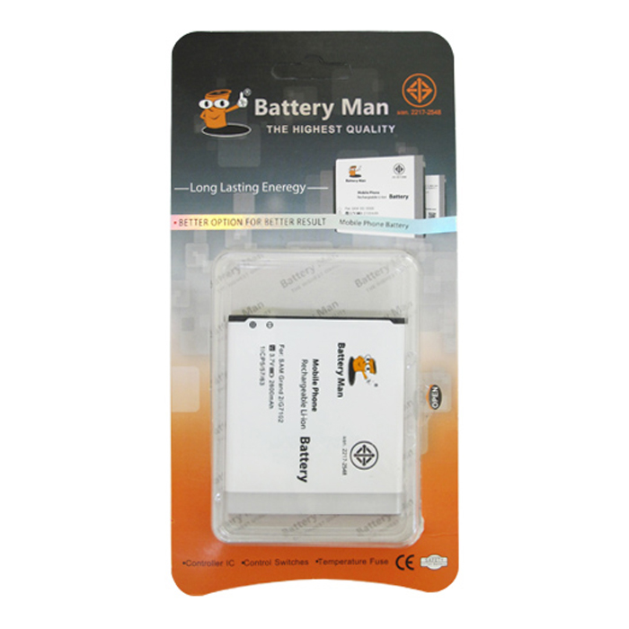 BATTERY MOBILE FOR SAMSUNG GALAXY GRAND2/G7120
