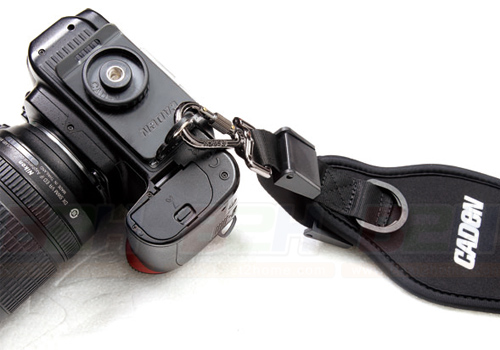 CADEN QUICK STRAP BLACK+HOLDER