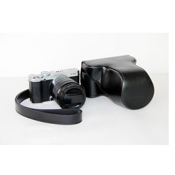 Leather case bag strap for Fuji X-A2