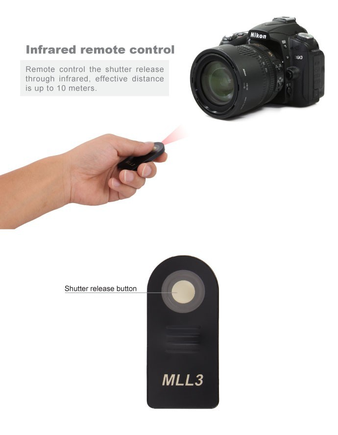 Meike Remote Shutter 2.4G Wireless MK-RC8 S2 for Sony E-mount