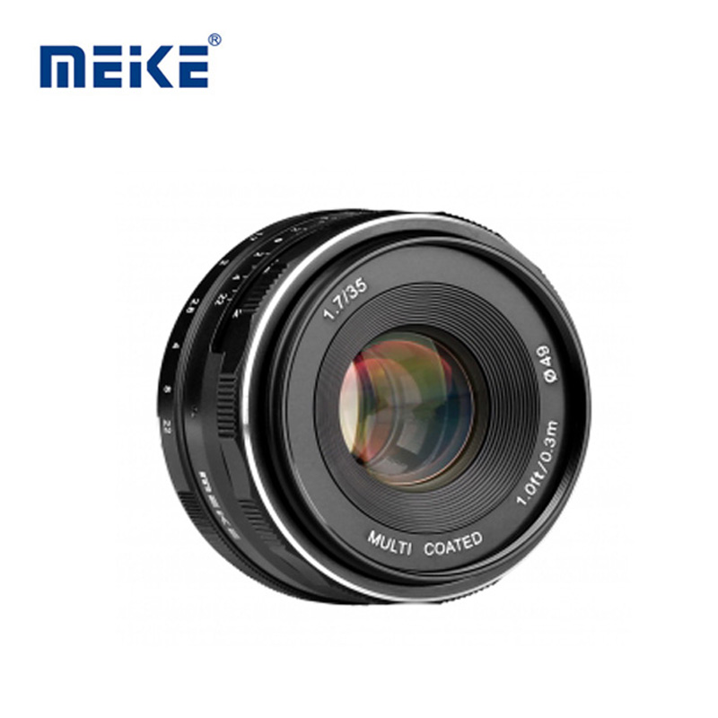 Lens MEIKE 35mm F1.7 Manual Focus for Canon Mount