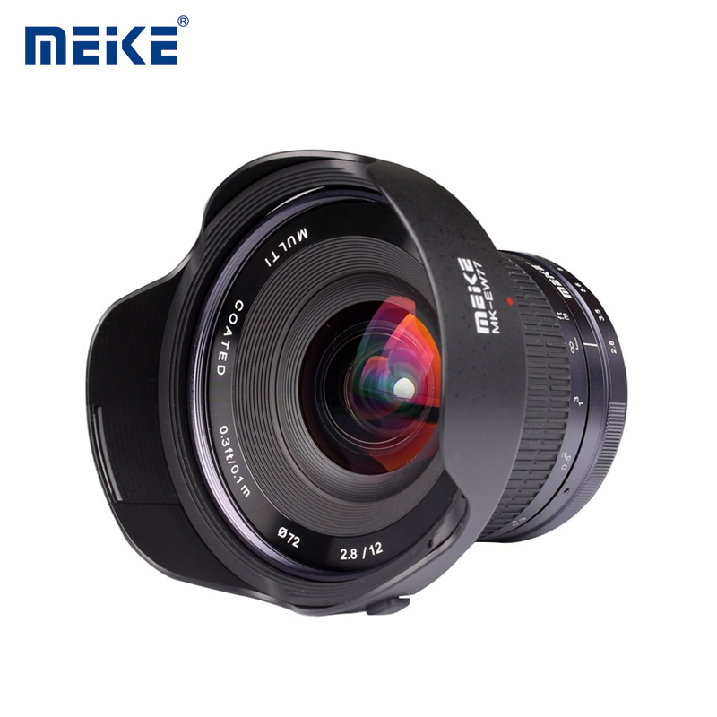 MEIKE 12mm F/2.8 Manual Focus Lens for Sony E Mount
