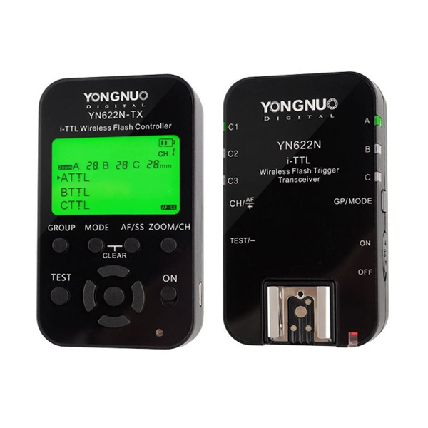 YONGNUO YN622N-KIT Wireless i-TTL Trigger with LED Screen for Nikon