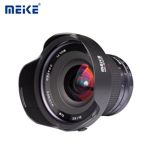 Lens MEIKE 12mm F/2.8 Manual Focus for 4/3 Mount (Panasonic/Olympus)