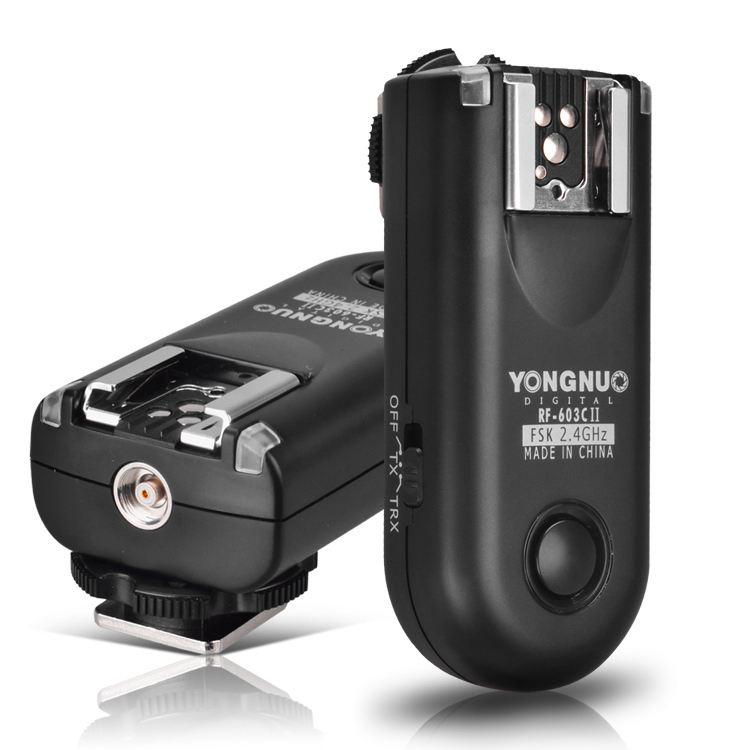 YONGNUO RF-603C II Wireless Flash Trigger for Canon