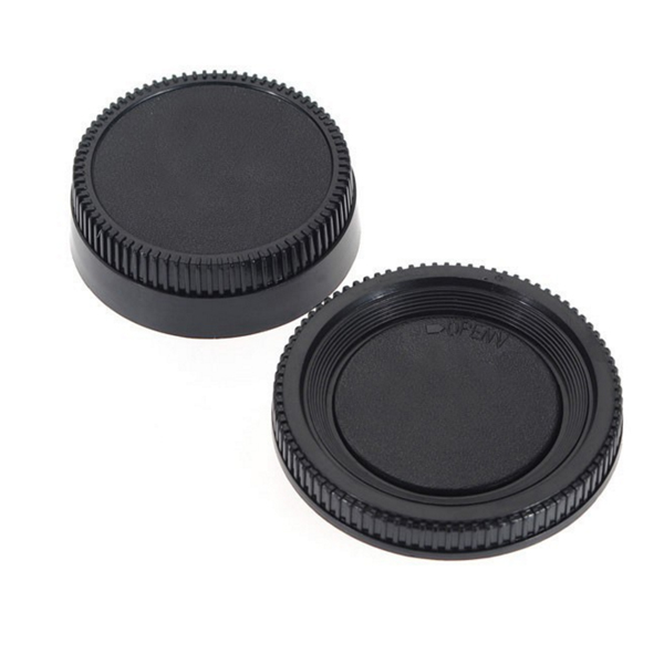 Front Body Cover and Rear Lens Cap Cover Protector For Nikon
