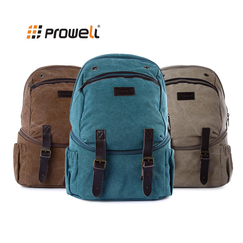 PROWELL DC22022 Photography DSLR Camera Backpack