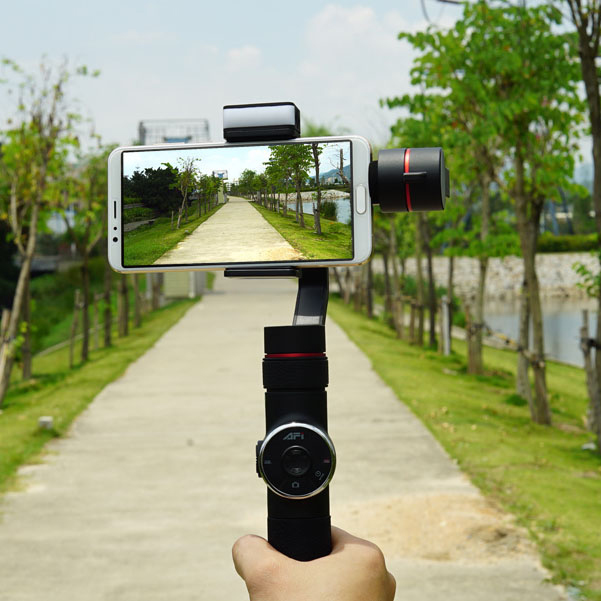 AFI V5 3-Axis Stabilized Handheld Gimbal for Smartphone / Gopro