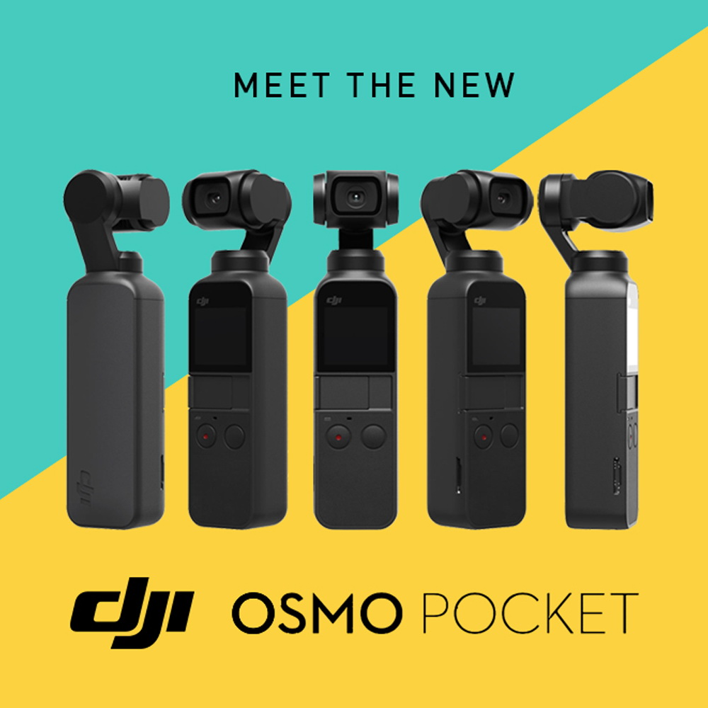 Osmo Pocket - 4K/60FPS Handheld 3-Axis Camera