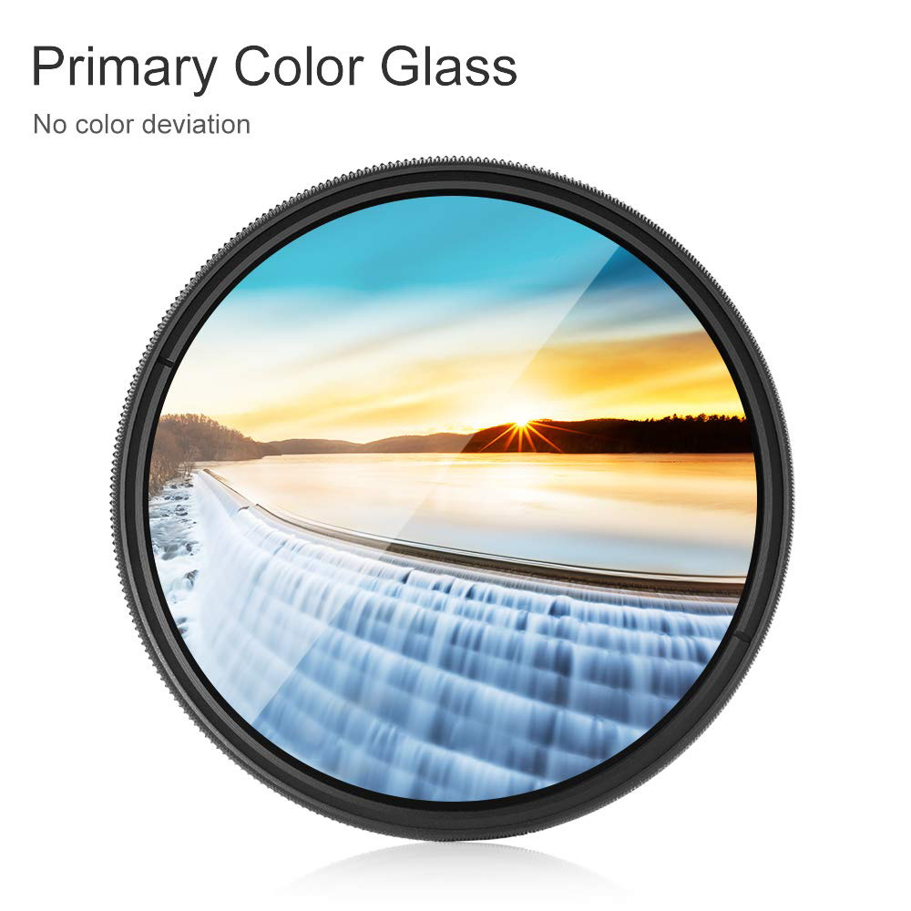 K&F CONCEPT 43mm ND2-400 Variable Neutral Density ND Filter