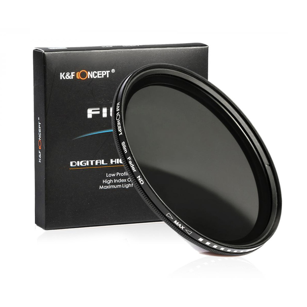 K&F CONCEPT 46mm ND2-400 Variable Neutral Density ND Filter
