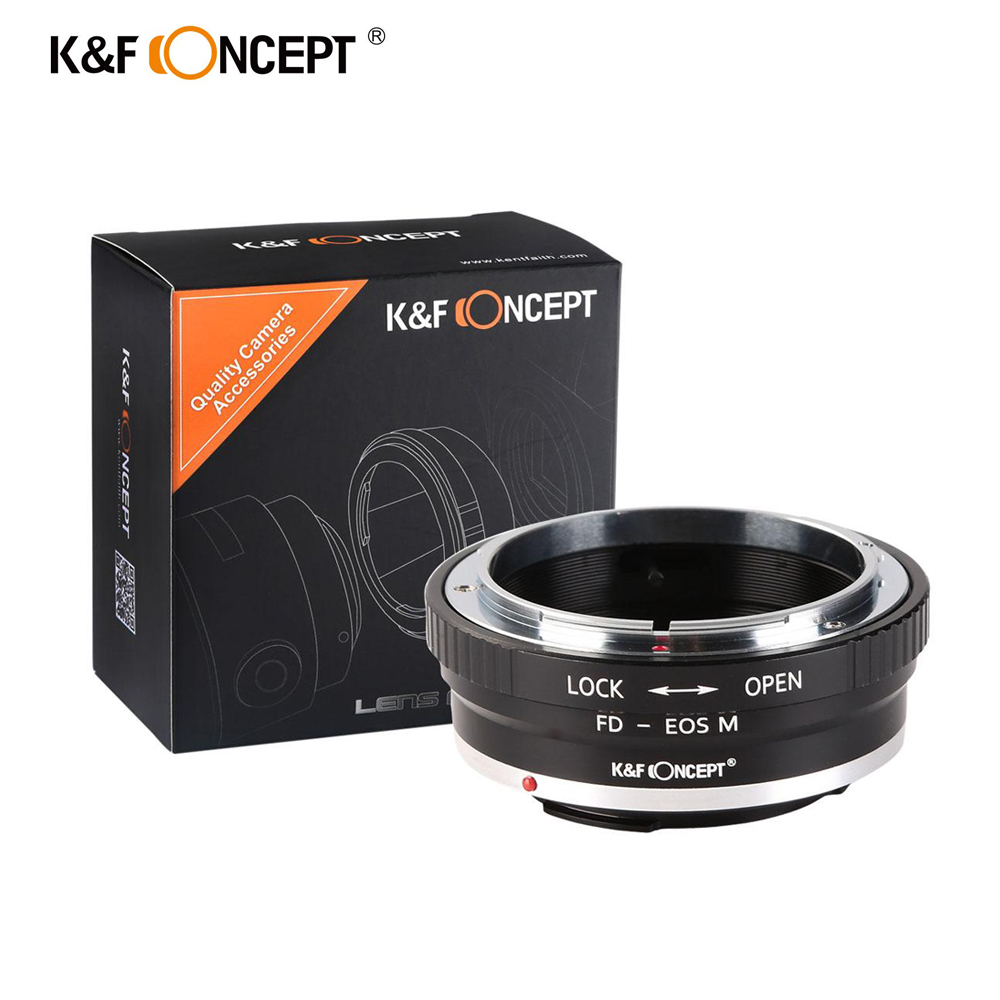 K&F Concept Lens Adapter KF06.138 for FD-EOS M