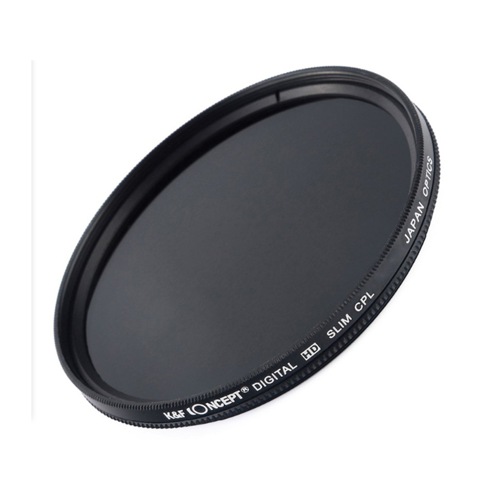 K&F CONCEPT Slim CPL Filter 52mm