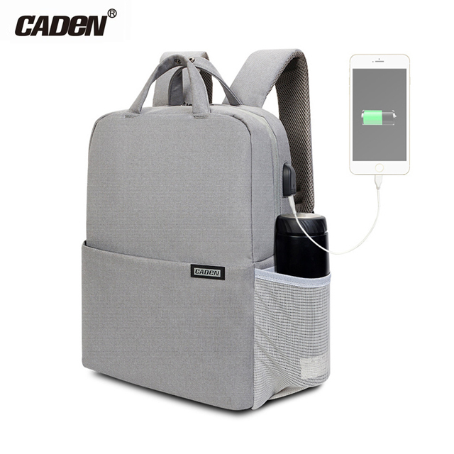 Caden L5 (S) Backpack Waterproof with USB Charging Port Notebook 9.7 นิ้ว