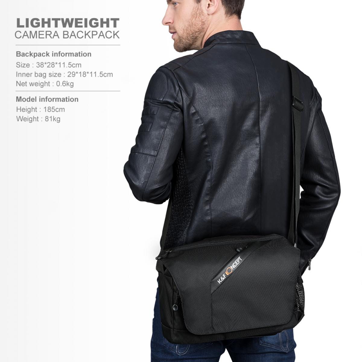 K&F Concept 13.091 Compact Messenger Shoulder Bag Freeman Series