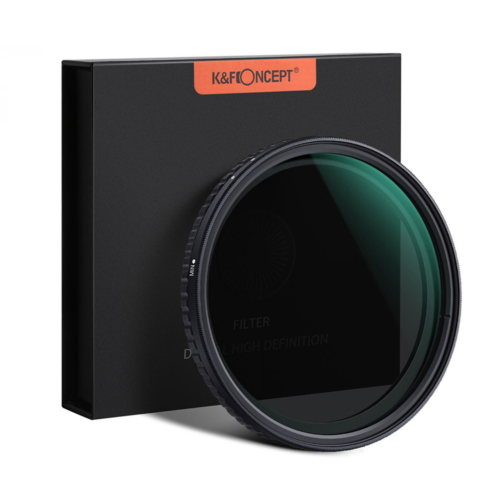 K&F Concept ND2-32 Variable Neutral Density ND Filter Nano-X Coated 58mm