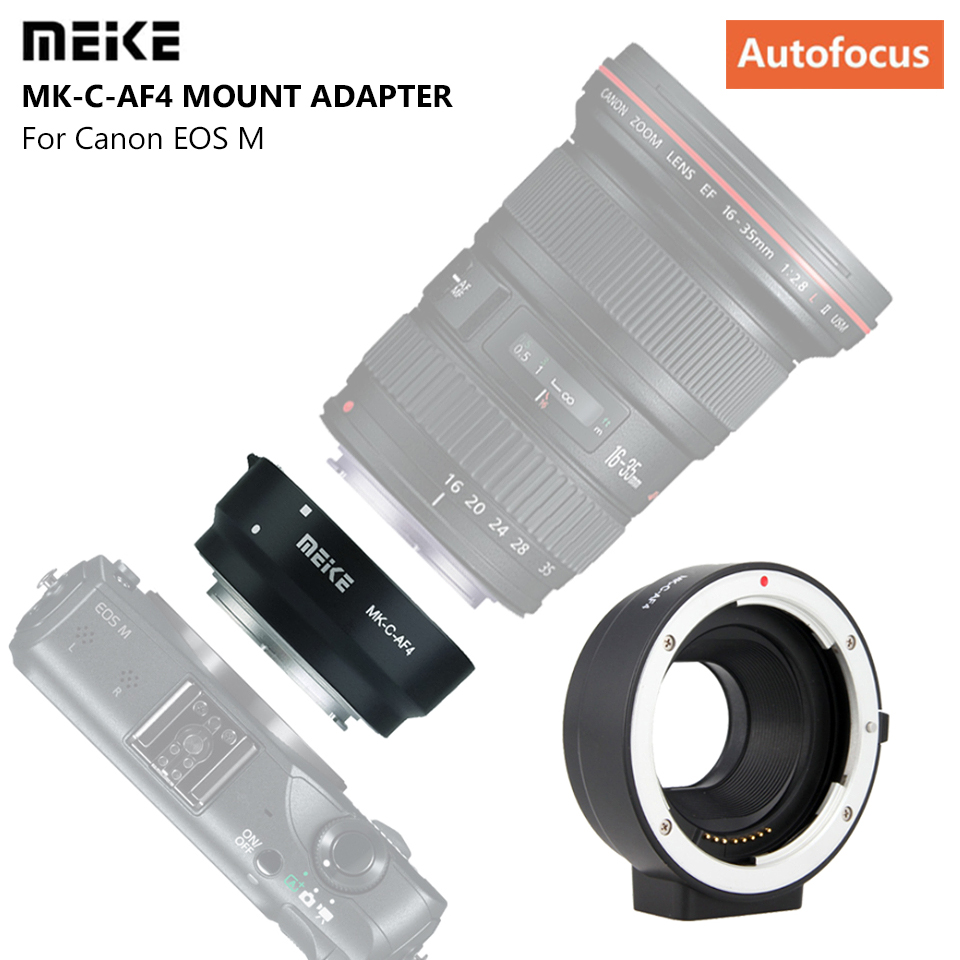 MEIKE Adapter Ring MK-C-AF4 for Canon EOS-M