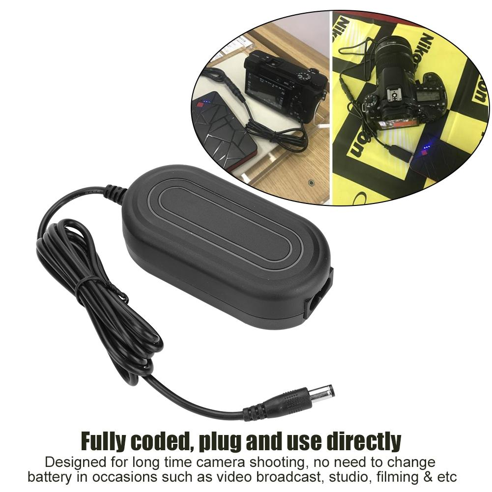 Dummy Battery ACK-E17 AC Adapter Battery LP-E17 for Canon EOS M3 M5 M6