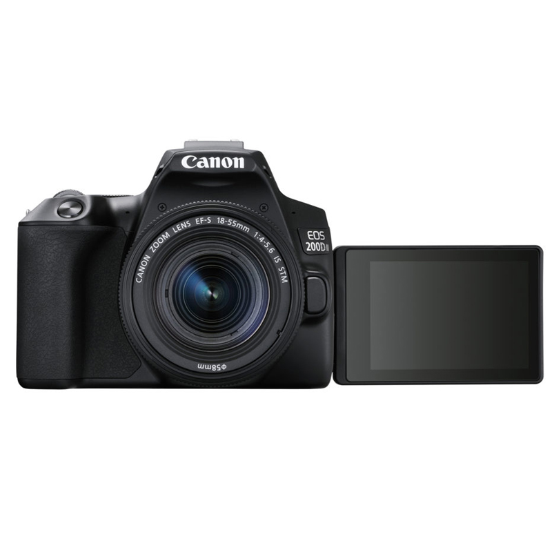 Canon EOS 200D Mark II Kit 18-55mm Lens