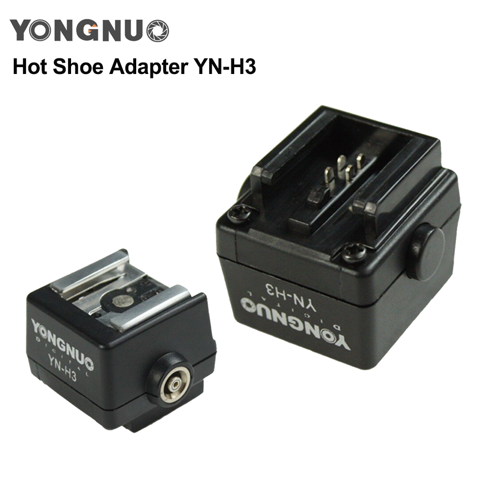 Flash Hot Shoe Adapter YN-H3 for Sony Alpha and Minolta Dynax