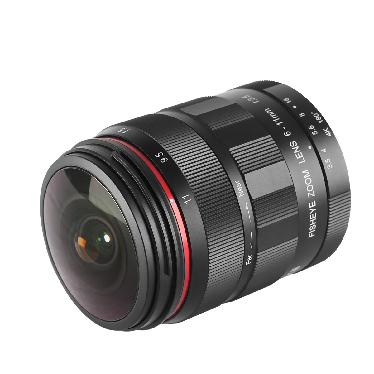 Lens MEIKE 6-11mm F3.5 Fish eye For Canon EF / EF-M