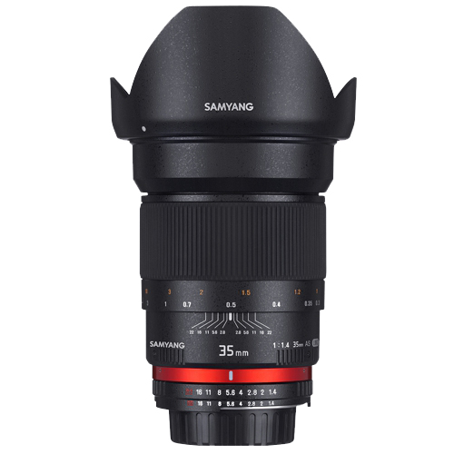 SAMYANG 35mm f/1.4 AS UMC Wide Angle Lens for Sony E-Mount