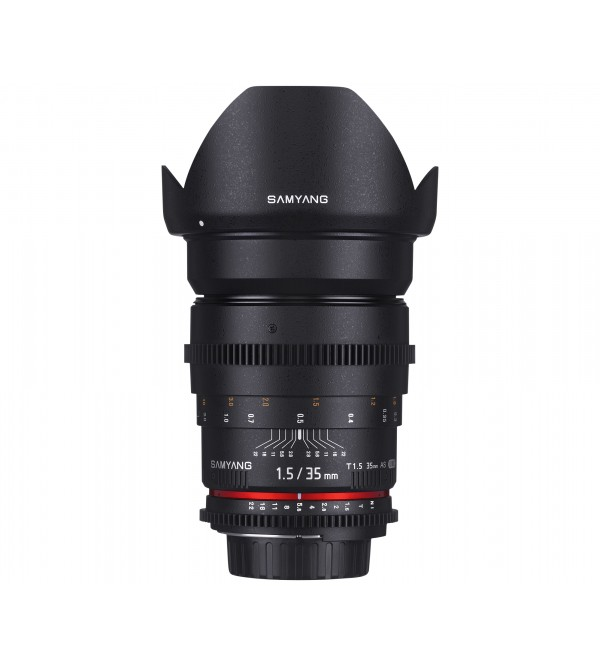 SAMYANG 35mm T1.5 VDSLR AS UMC II WIDE ANGLE LENS for SONY E Mount