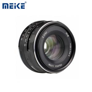 Lens MEIKE 50mm F2.0 APC-C for Fujifilm Mirrorless