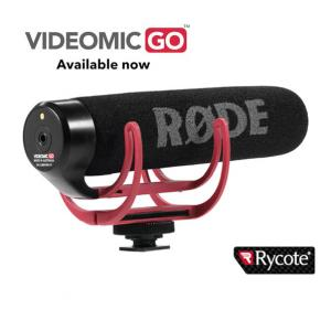 VideoMic GO Lightweight On-Camera Microphone RODE