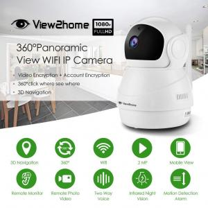 กล้อง IP Panoramic VIEW2HOME HD-06 (2MP) Two-Way Audio