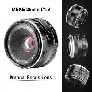 Lens MEIKE 25mm F1.8 Manual Focus for Canon EF-M Mount